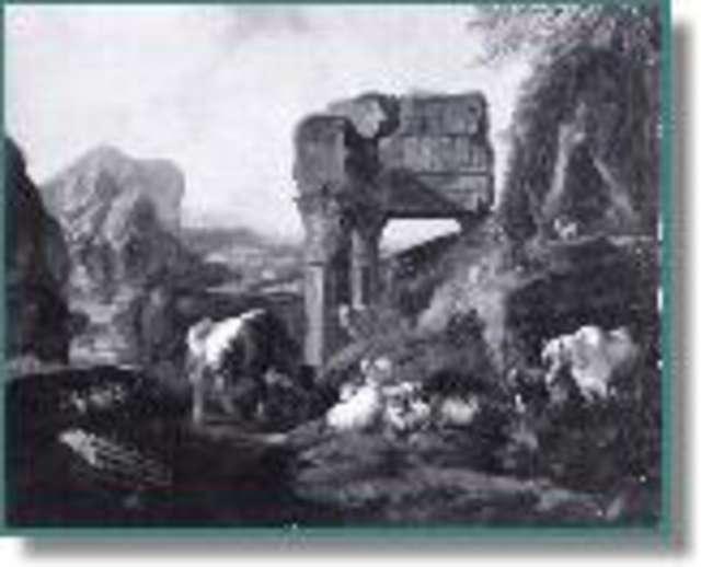 Malarstwo pejzażowe i rodzajowe XVII-XIX wieku  Muzeum Warmii i Mazur w Olsztynie - full image