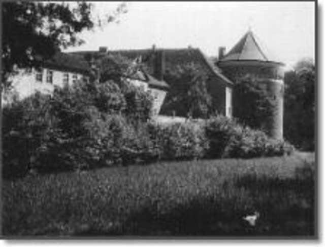 Lidzbarski zamek w fotografii - dawniej i dziś - full image