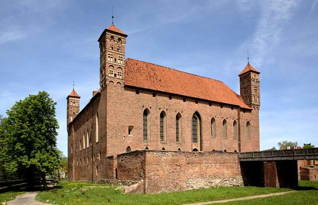 Castle of the Bishops of Warmia in Lidzbark Warmiński - full image