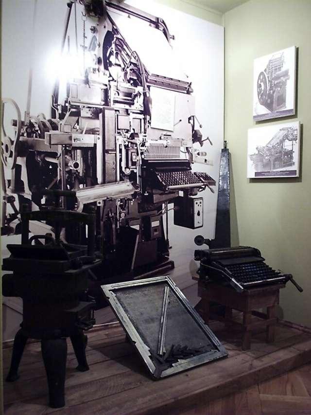 """""""Gazeta Olsztyńska"""" (1886-1939) - wystawa stała - full image"""