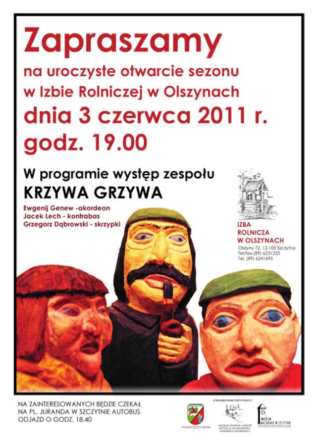 Otwarcie sezonu w Izbie Rolniczej w Olszynach - full image