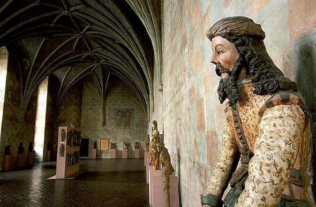 Sztuka średniowieczna Warmii i Prus Krzyżackich - wystawa stała.  - full image