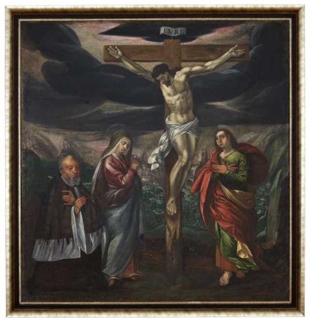 Malarstwo religijne ze zbiorów Muzeum - wystawa stała.  - full image