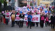 """Finał XI marszu Różowej Wstążki """"Kochamy Cię Życie"""""""