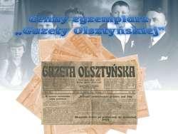 Niedziela w Muzeum - Cenny egzemplarz Gazety Olsztyńskiej