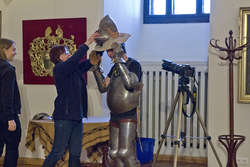 Plener Pałacu Młodzieży na olsztyńskim zamku