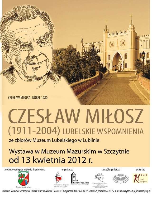 Czesław Miłosz – Lubelskie wspomnienia - full image