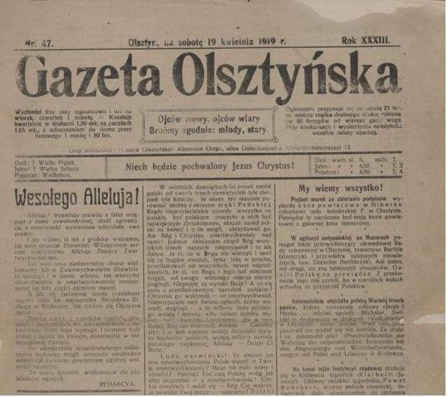 Stara Gazeta Olsztyńska w wirtualnym świecie - full image