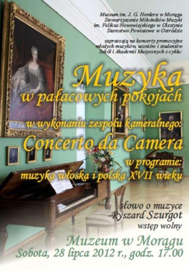Muzyka w pałacowych pokojach - full image