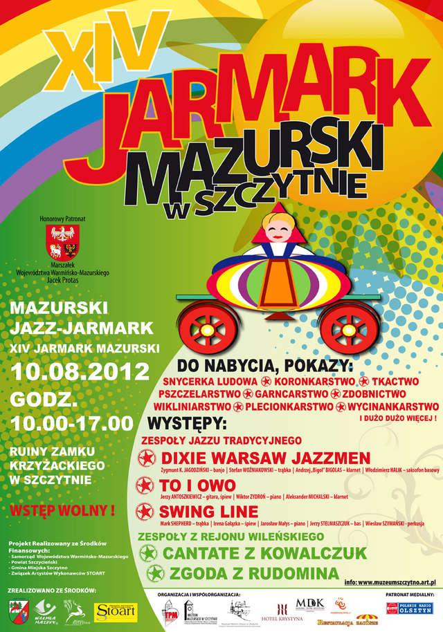 MAZURSKI JAZZ-JARMARK. XIV JARMARK MAZURSKI W SZCZYTNIE - full image