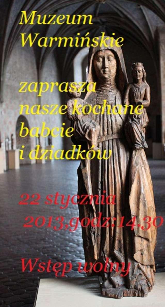 Odwiedziny św. Anny i św. Joachima w lidzbarskim zamku - full image
