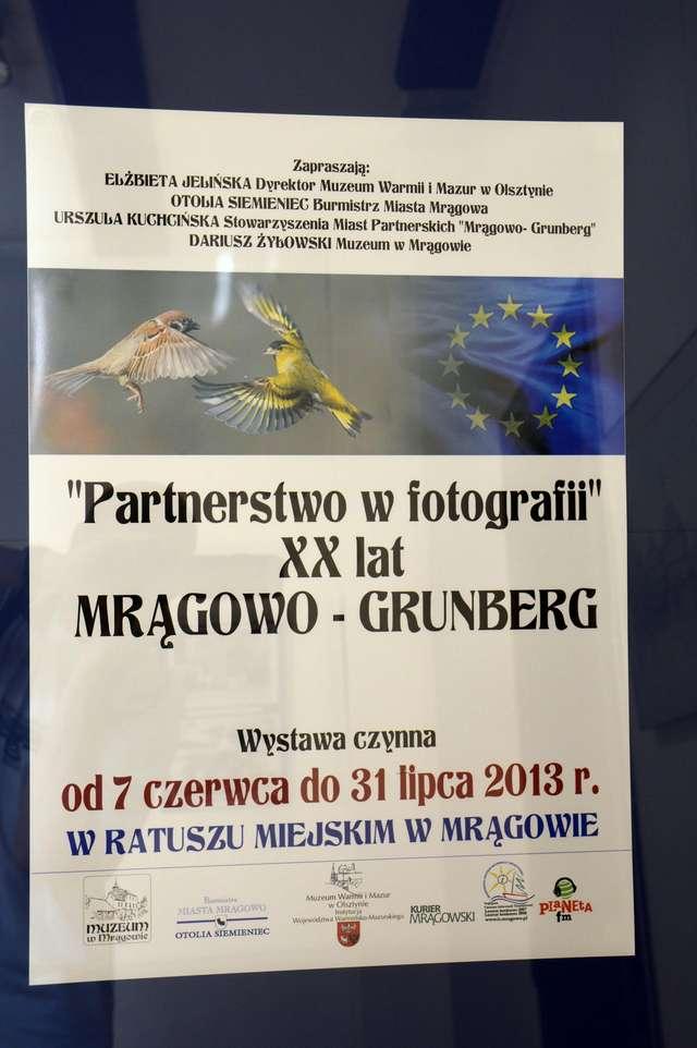 Partnerstwo Mrągowo-Grunberg w fotografii - full image