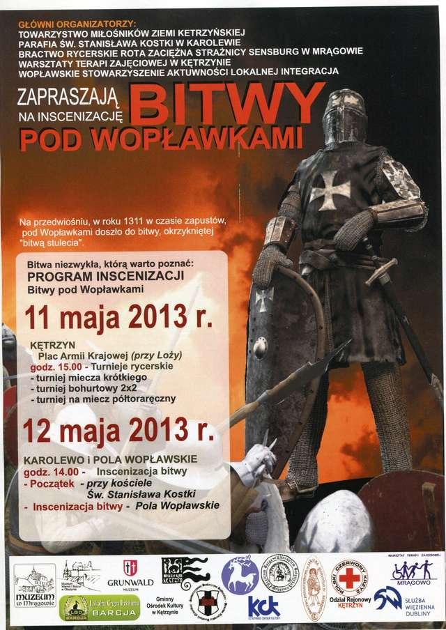 Inscenizacja Bitwy pod Wopławkami - full image