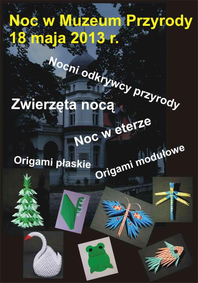 Międzynarodowa Noc Muzeów w Muzeum Przyrody w Olszynie - full image
