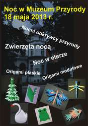Międzynarodowa Noc Muzeów w Muzeum Przyrody w Olszynie