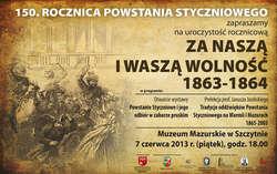 ZA NASZĄ I WASZĄ WOLNOŚĆ 1863-1864