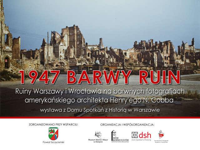 1947 Barwy ruin - full image