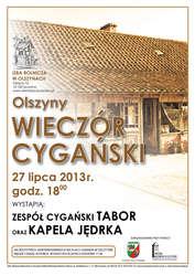 Wieczór Cygański w Izbie Muzealnej w Olszynach