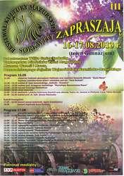 III Festiwal Kultury Mazurskiej