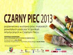 Czarny Piec 2013 - wystawa poplenerowa