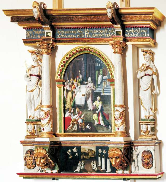 Luterańskie epitafia i portrety upamiętniające - full image