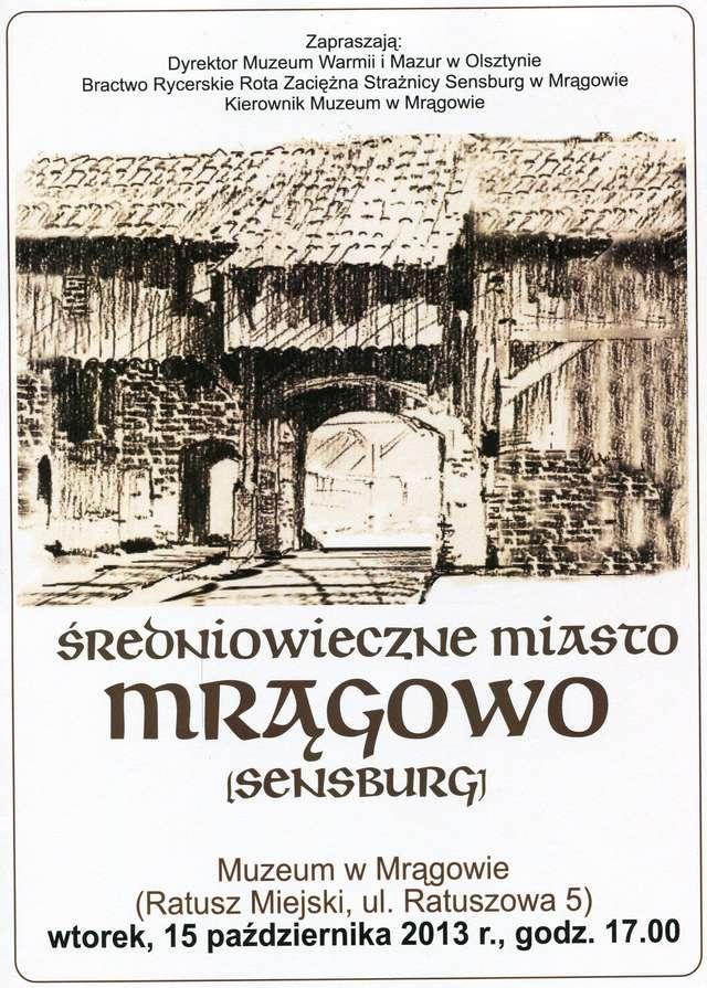 Średniowieczne miasto Mrągowo - full image