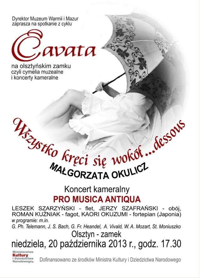 Cavata na olsztyńskim zamku - full image