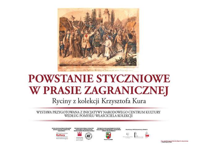 Powstanie Styczniowe w prasie zagranicznej. Ryciny z kolekcji Krzysztofa Kura. - full image