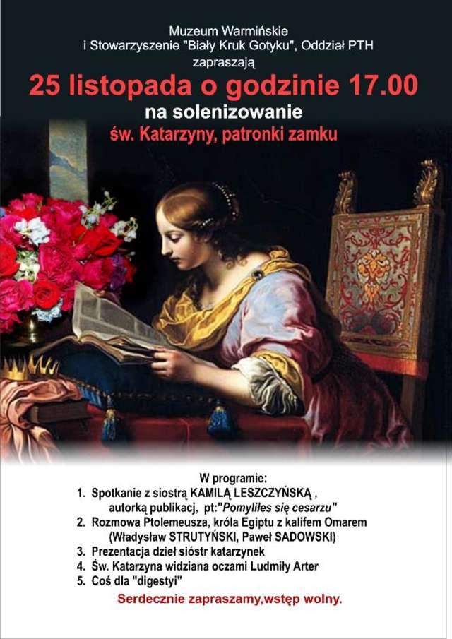 Katarzynki  - imieniny patronki zamku - full image