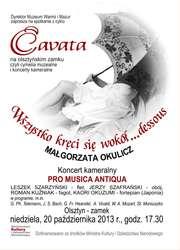 Cavata na olsztyńskim zamku
