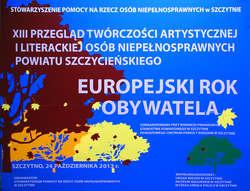 XII przegląd twórczości plastycznej osób niepełnosprawnych powiatu szczycieńskiego