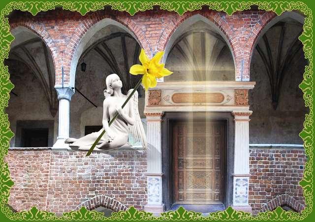Radosnych Świąt przeżywania Zmartwychwstania Pańskiego - full image