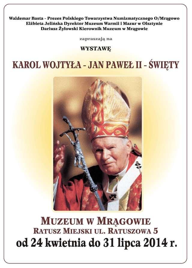Karol Wojtyła - Jan Paweł II – Święty - full image
