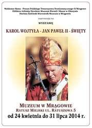 Karol Wojtyła - Jan Paweł II – Święty