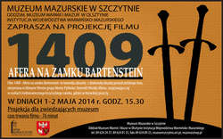 Projekcja filmu pt. 1409 AFERA NA ZAMKU BARTENSTEIN