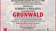 """Projekcja filmu """"Grunwald"""" - reportaż z kulis realizacji rekonstrukcji bitwy pod Grunwaldem."""