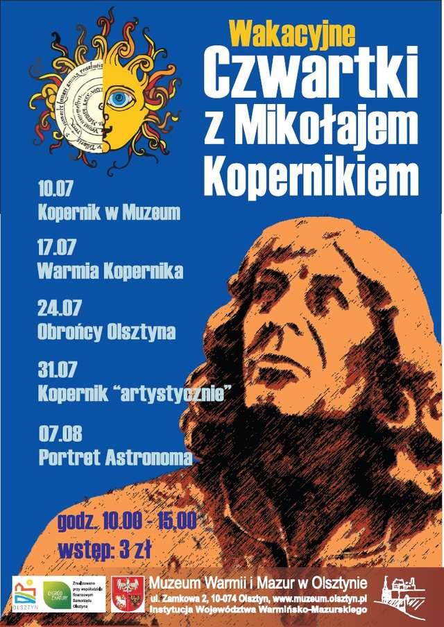 Wakacyjne czwartki z Mikołajem Kopernikiem - Kopernik artystycznie - full image