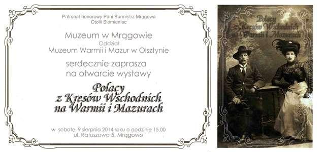 Polacy z Kresów Wschodnich na Warmii i Mazurach.  - full image
