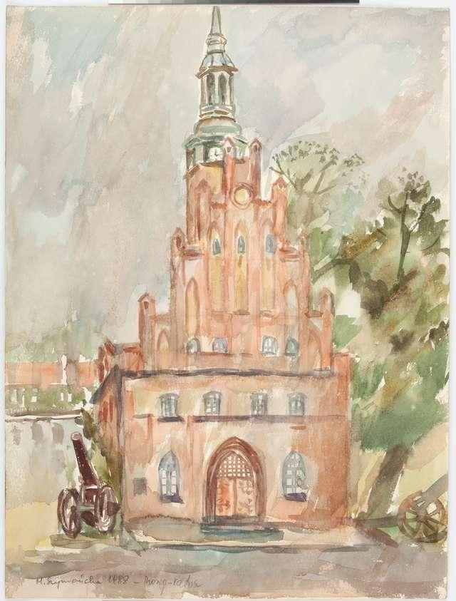 Grafiki i akwarele Marii Szymańskiej (1928-2011) - full image