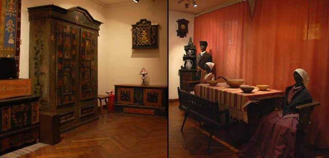 Meble i tkaniny mazurskie - wystawa stała  - full image