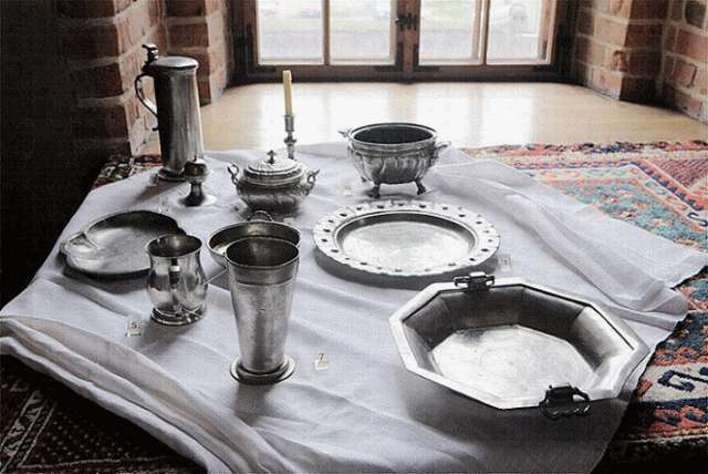 Sacred and secular utensils  - full image