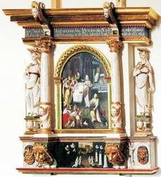 Lutherische Grabschriften und Gedenkporträts