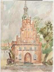 Grafiki i akwarele Marii Szymańskiej (1928-2011)