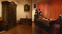 Meble i tkaniny mazurskie - wystawa stała