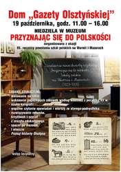 """Niedziela w Domu """"Gazety Olsztyńskiej"""""""
