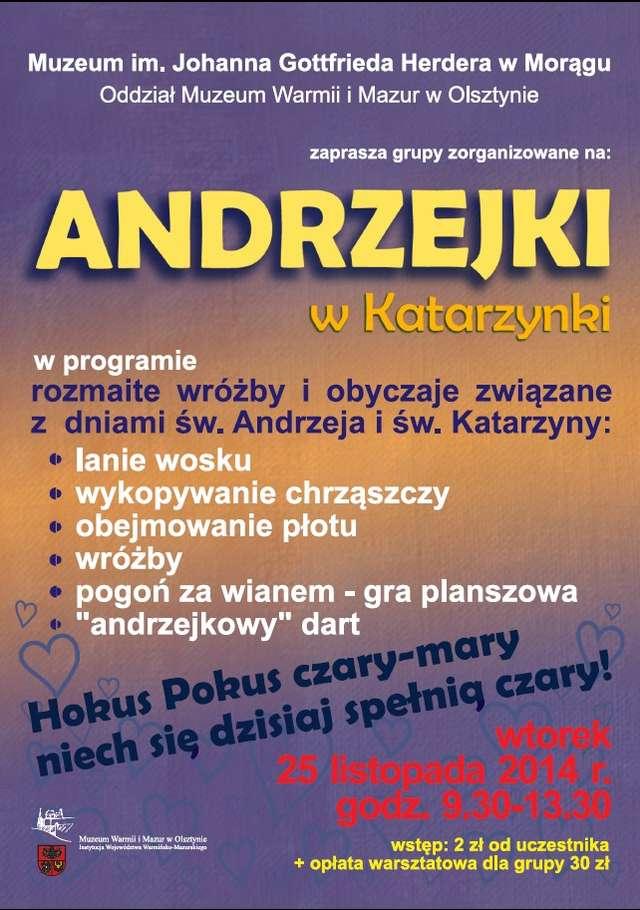 Andrzejki w Katarzynki - full image