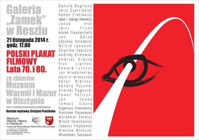 Przepraszam, czy tu biją? Polski plakat filmowy. Lata 70. i 80. - full image