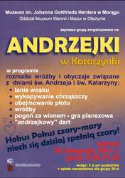Andrzejki w Katarzynki