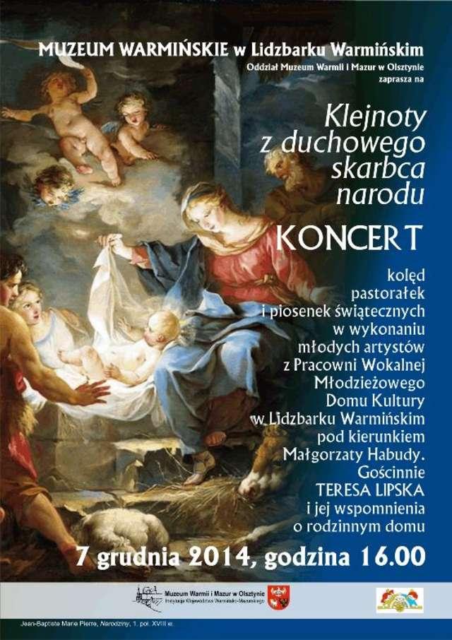 Koncert kolęd, pastorałek i piosenek świątecznych - full image