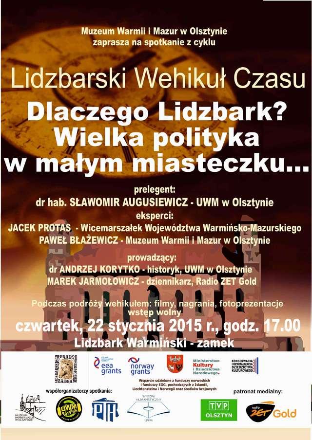 Lidzbarski Wehikuł Czasu - full image